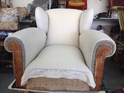 Upholstery - your older furniture will look and feel new